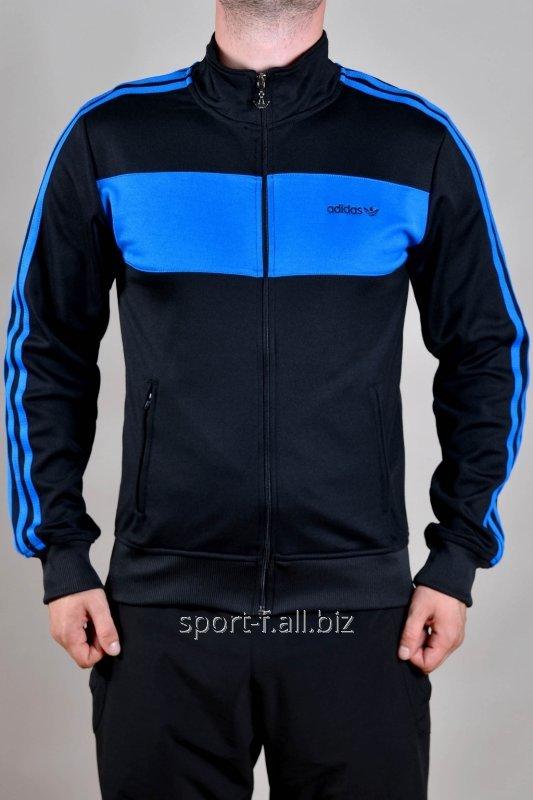 Мастерка Adidas мужская синяя