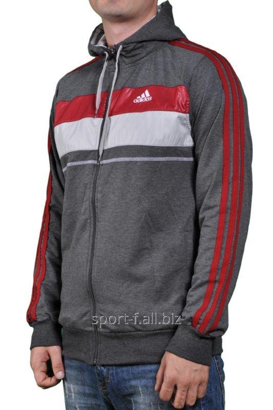 Купить Мастерка Adidas мужская с капюшоном