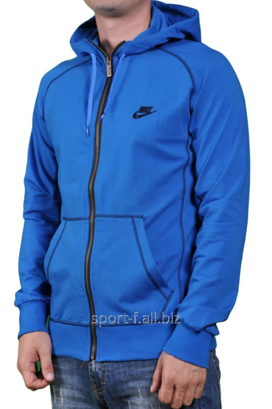 Мастерка мужская Nike синяя