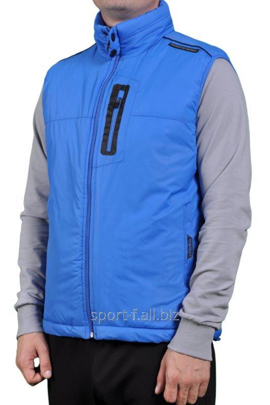Жилет Adidas Porsche Design мужской синий на молнии