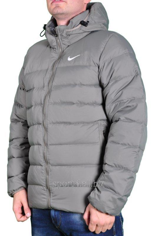 da557aa2 Пуховик Nike мужской серый купить в Днепр