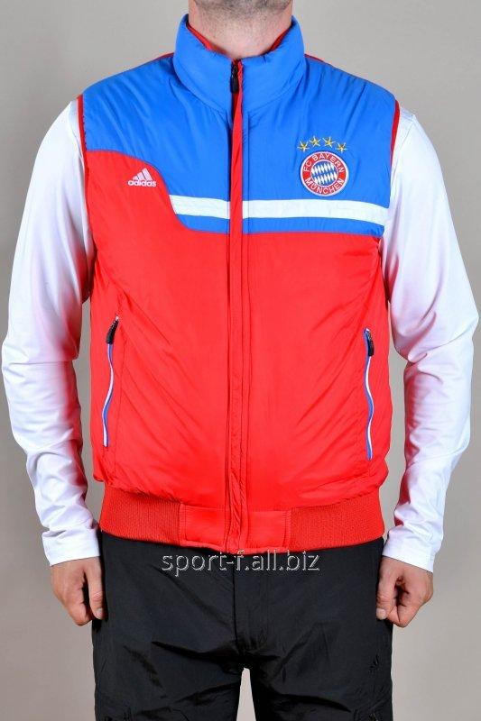 Жилет Adidas  Bayern München красно-голубой