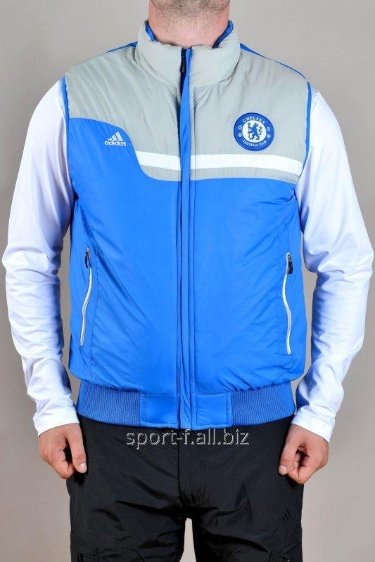 Жилет Adidas Chelsea голубой  мужской
