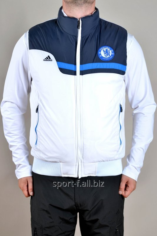 Жилет Adidas Chelsea бело-синий