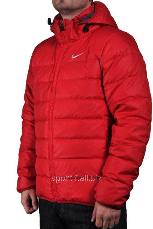 bcb9d64d Пуховик Nike мужской короткий красный купить в Днепр