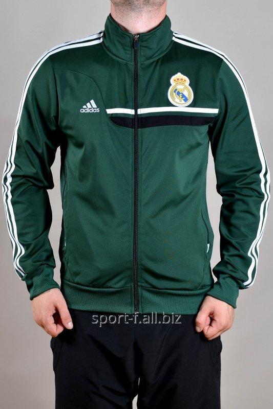 e4eceef8e8da Мастерка Adidas Real Madrid зеленая купить в Днепр