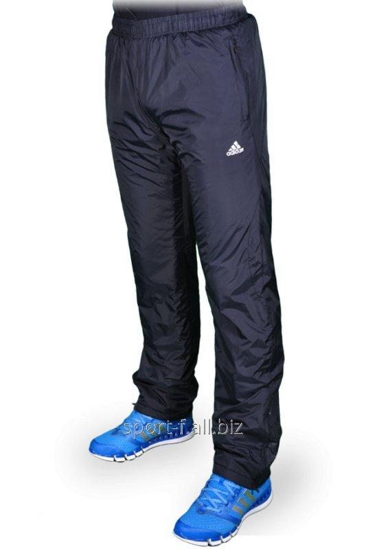 de4e3429 Зимние спортивные брюки на флисе мужские черные Adidas купить в Днепр