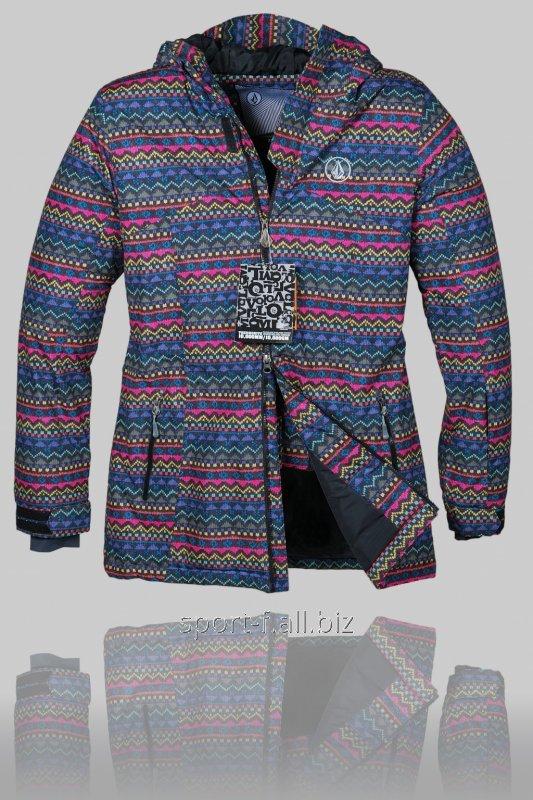 Женская зимняя горнолыжная куртка Volcom