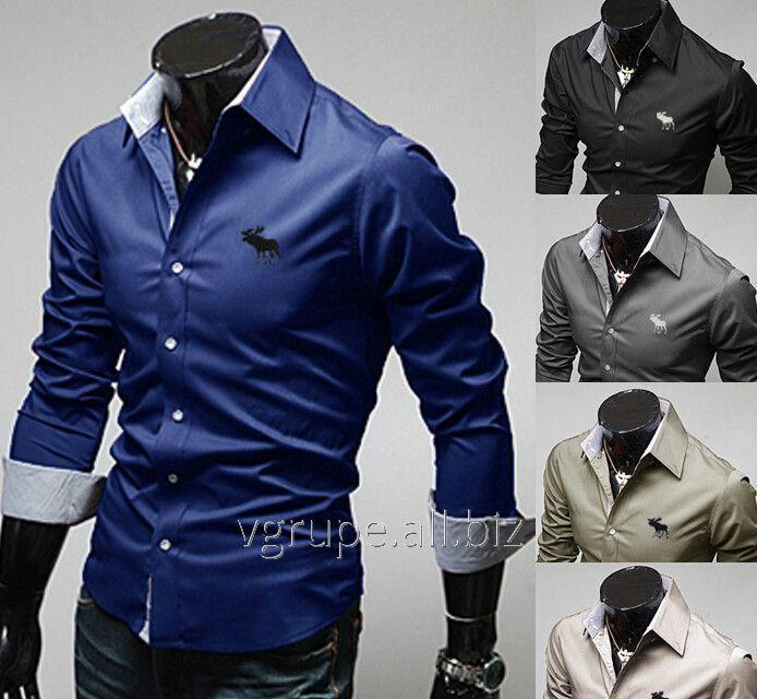 Мужская рубашка олень f1fd45e7e2548