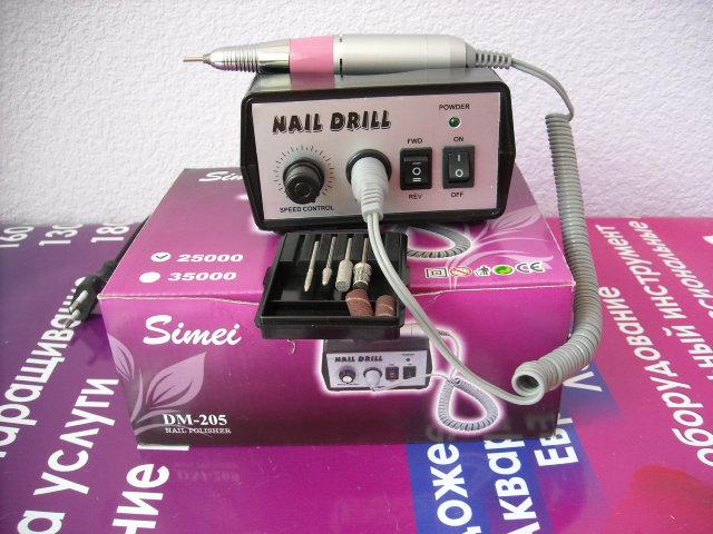Купить Профессиональная электрическая машинка для маникюра и педикюра SIMEI 205. Пр-воЮж. Корея