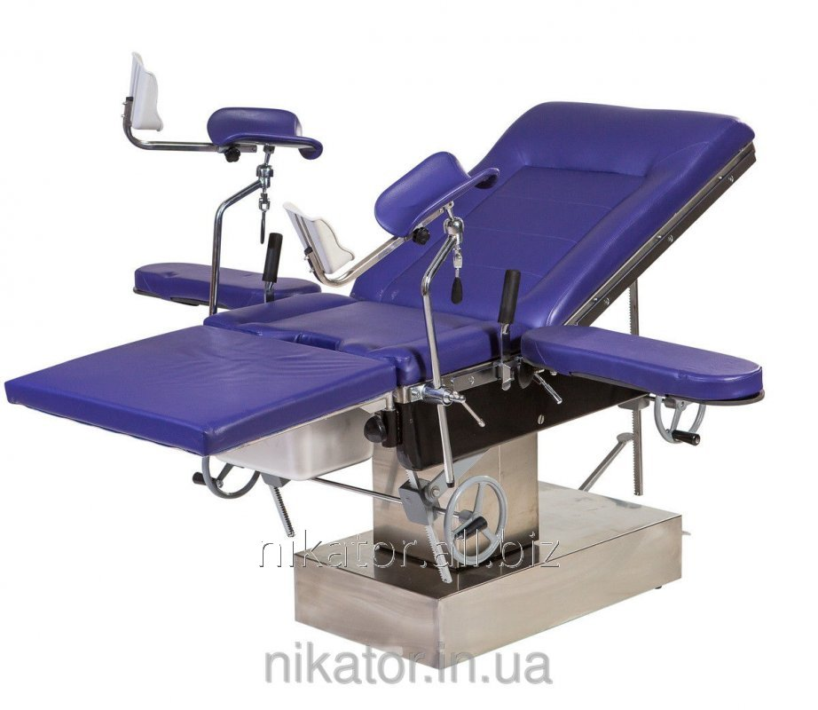 Стол операционный акушерский МТ400 гидравлический для родовспоможения