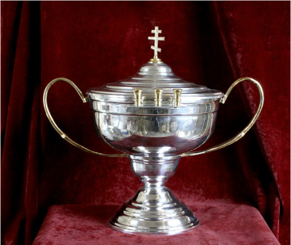 Holy-water bowl, holy-water bucket, church, production, sale