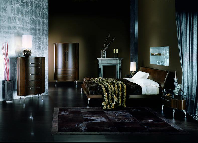 спальни из редких пород дерева Giorgio Collection спальни из италии