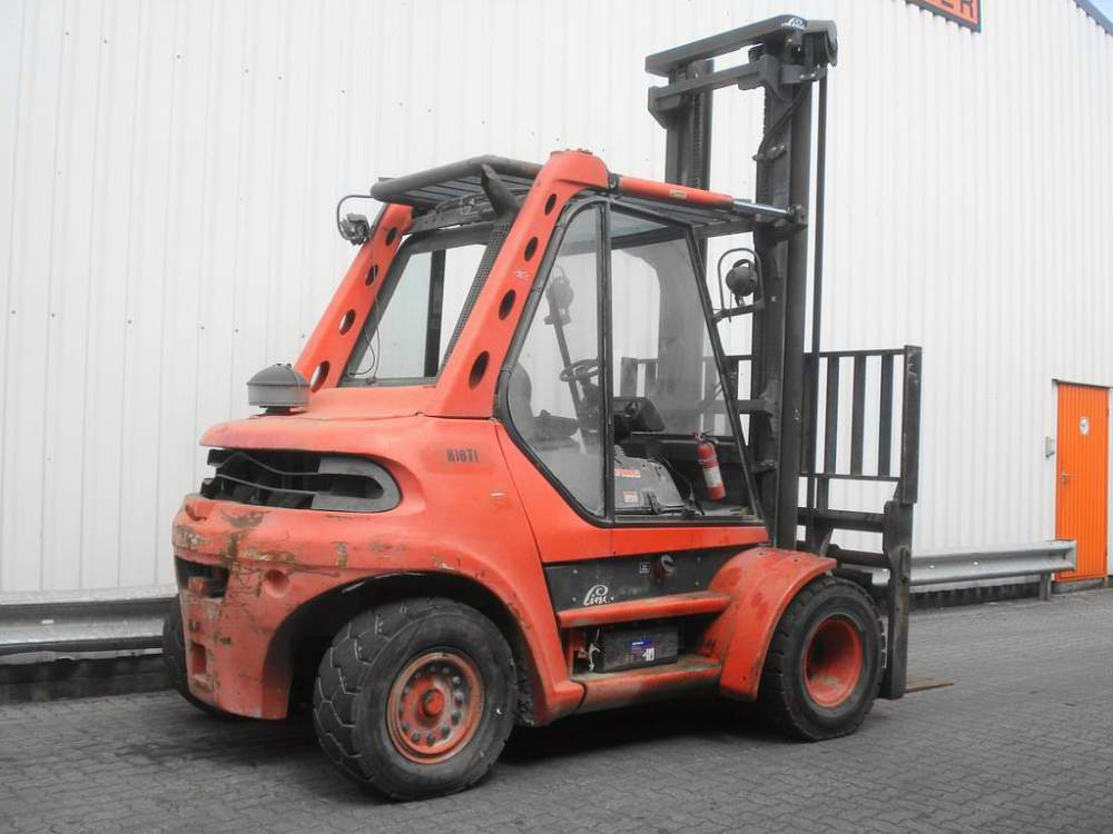 Buy Linde H70D loader to purchase, the price in Ukraine