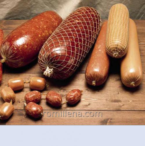 Целлюлозная колбасная оболочка больших диаметров Viscofan