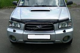 Buy The cowl deflector (mukhootboynik) on Subaru Forester