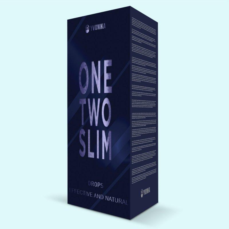 Капли для похудения OneTwoSlim ВанТуСлим