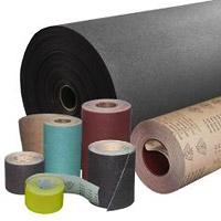 Шлифовальные шкурки на бумажной и тканевой основе