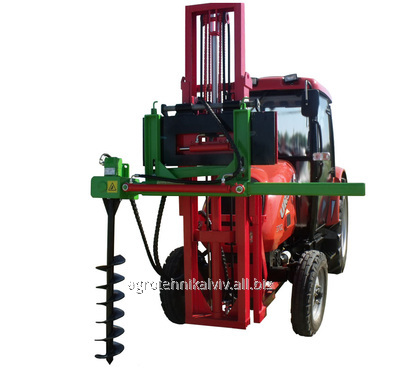 Buy The drill with a hydraulic podemnik