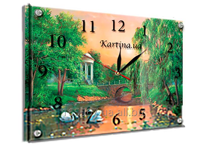 Часы под стеклом 30 х 40 см K-133