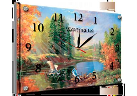 Часы под стеклом 30 х 40 см K-202