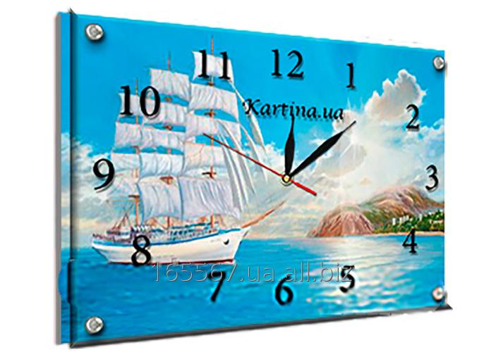 Часы под стеклом 30 х 40 см K-213
