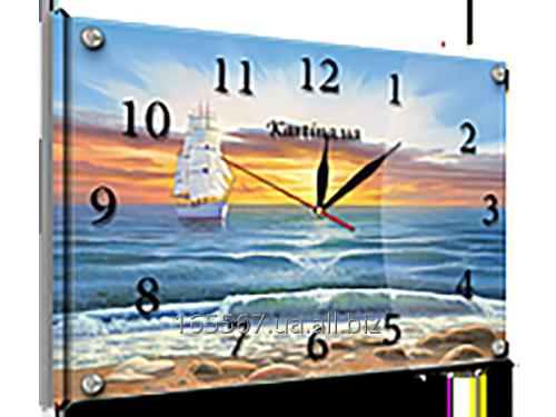 Часы под стеклом 30 х 40 см K-825