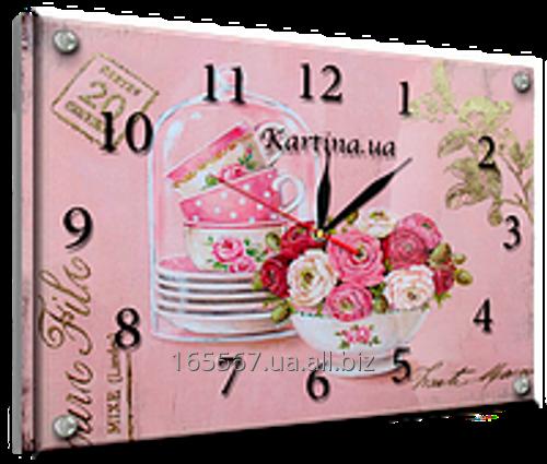 Часы под стеклом 30 х 40 см K-864