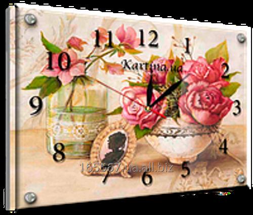 Часы под стеклом 30 х 40 см K-868