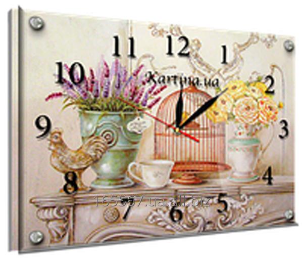 Часы под стеклом 30 х 40 см K-871