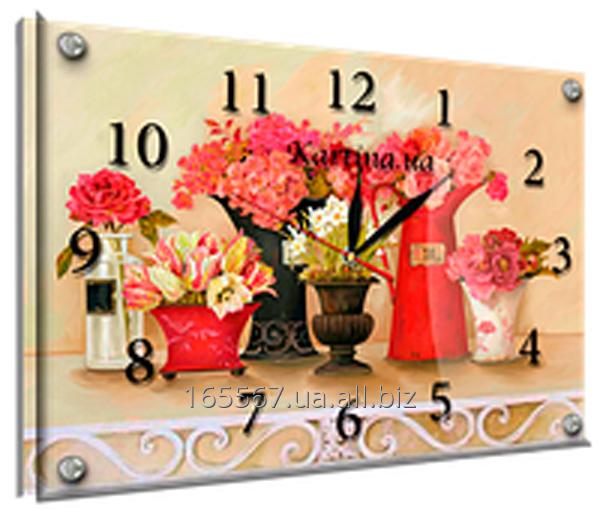 Часы под стеклом 30 х 40 см K-881
