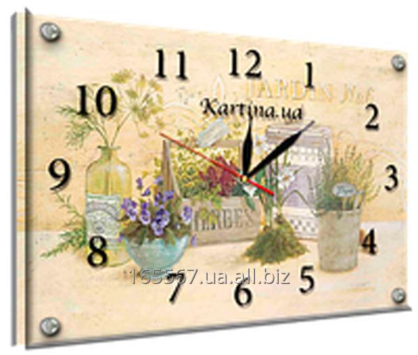 Часы под стеклом 30 х 40 см K-883