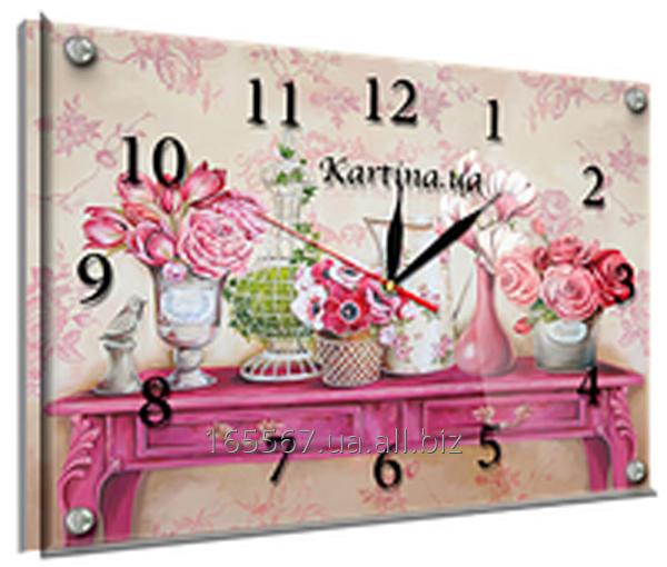Часы под стеклом 30 х 40 см K-884