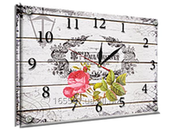 Часы под стеклом 30 х 40 см L-4