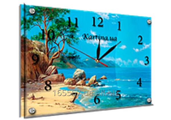 Часы под стеклом 30 х 40 см K-222