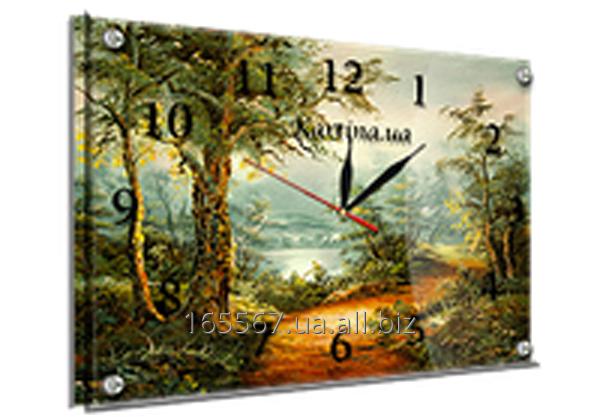 Часы под стеклом 30 х 40 см 111