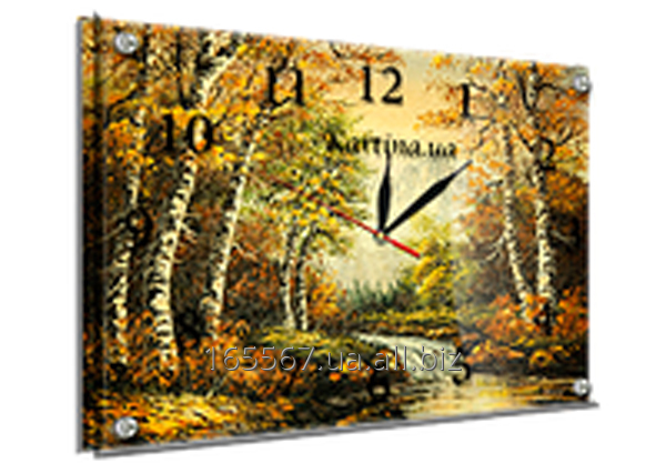 Часы под стеклом 30 х 40 см 117