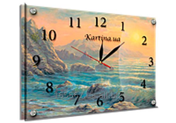 Часы под стеклом 30 х 40 см K-170