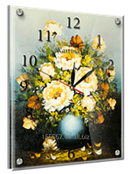 Часы под стеклом 30 х 40 см 36