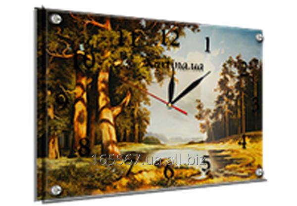 Часы под стеклом 30 х 40 см 408