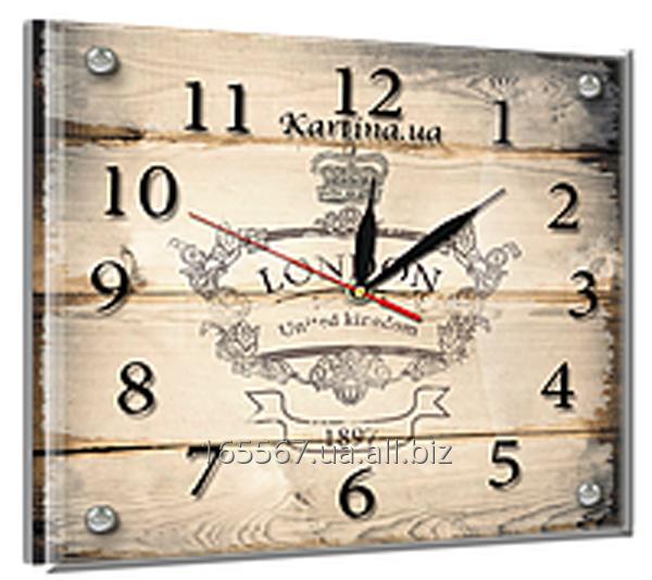 Часы под стеклом 20 х 25 см L-2
