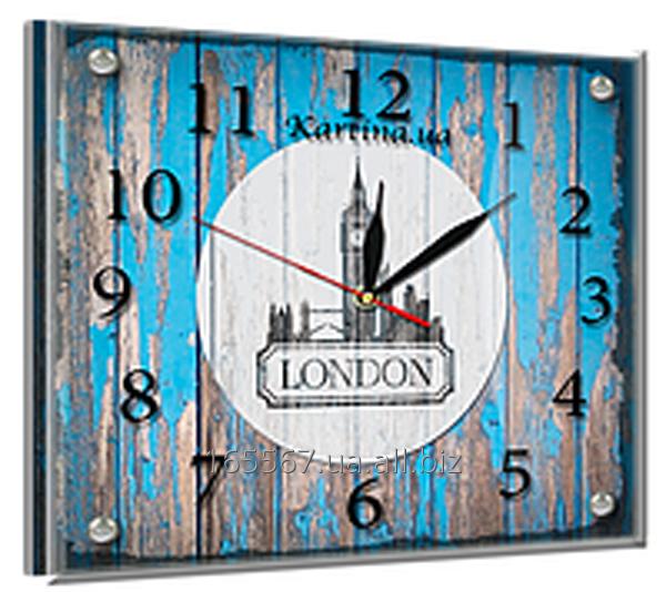 Часы под стеклом 20 х 25 см L-3