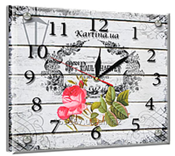 Часы под стеклом 20 х 25 см L-4