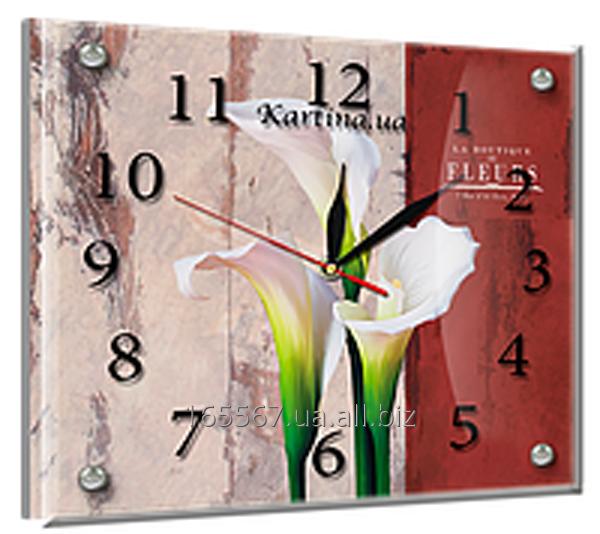 Часы под стеклом 20 х 25 см L-10