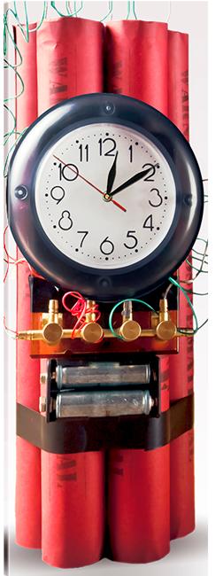 Часы на холсте 30 х 75 см CH-75