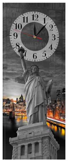 Часы-картины на холсте 30 х 75 см CH-48