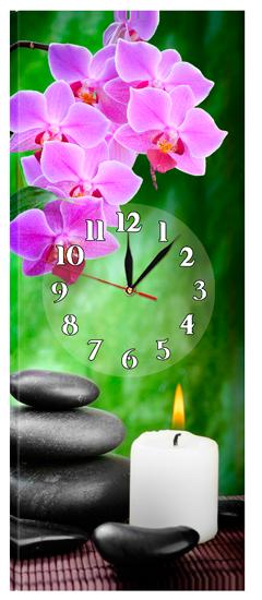 Часы на холсте 30 х 75 см CH-56