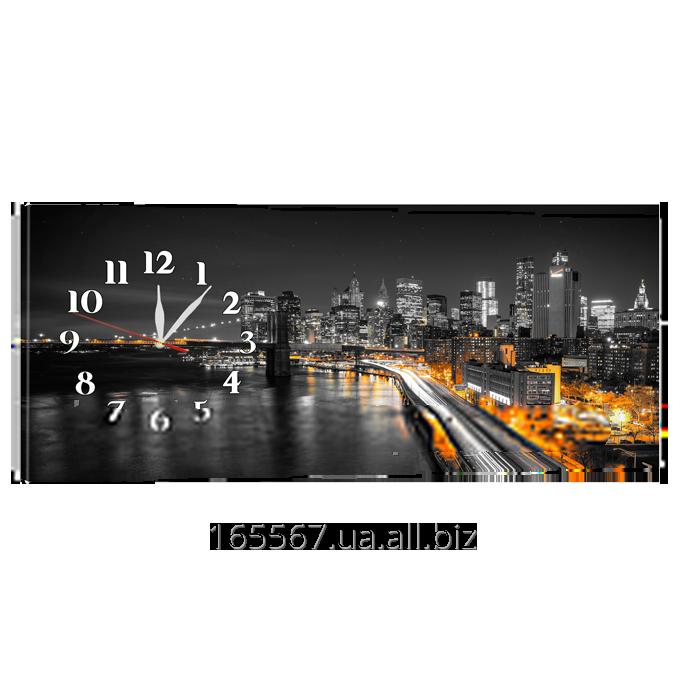 Часы на холсте 30 х 75 см CH-61