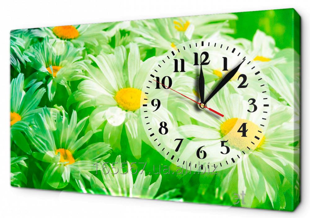 Часы на холсте 30 х 53 см 18