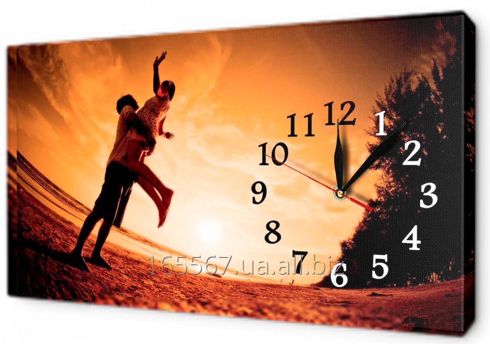 Часы на холсте 30 х 53 см 10